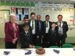 Rotakids celebrate - UBHS Interact at their recent relaunch with DG, AG