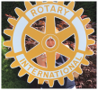 Happy New Rotary Year and Happy New President Bev! - Outgoing President Janice, can you spot her?