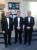 Charter Anniversary Dinner - Rotarians Jim Atty, Mike Green and Phil Holloway