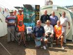 Rotarian Shelterbox team from Teignmouth and Bovey Tracey