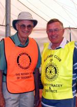 Peter King and Jim Johnson of Bovey Tracey
