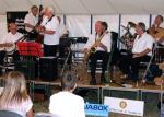 Viv Wilson and the Teign Delta Jazz Band provided the evening entertainment