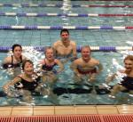 Purley Swimathon - 2016 - The Diamond Riding Centre team - 'strutting their stuff' - Well done