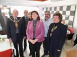 Nicky Morgan unveils Rotary plaque - SAM 0703
