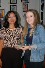 Young Artist of the Year Competition  - Key Stage 4: Winner - Natasha Crabtree - Kingswood Academy