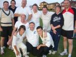 Annual Cricket Match - The victorious Round Table team