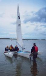 Grafham Water Sailability - Sail7 2