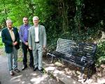 Official Unveiling of the Cuttlebrook seat -