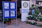 Santa arrived 10am Saturday 18 November - Haddenham and District Rotary Club information displays at the Garden Centre
