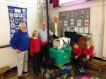 Slideshow 2013-14 - Our visit to Delph school and presentation with the help of Crompton & Royton rotary club.