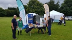 International Projects - Promoting the work of Shelter Box at local park events