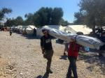 International Projects - Shelterbox volunteers in Greece 2015