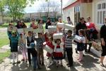 International Projects - Children receiving Shoeboxes in Ukraine