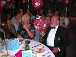 40th Anniversary of Rotary Club of Fleet - July 2001 - Snowie Johnson & Neil Rorie