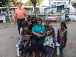 Ben's GSE visit to India - Spot Cathie our Team Leader!