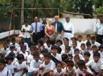 Tsunami Disaster - 1 year on (2006) - Group Photo: Graham & Lynn and children