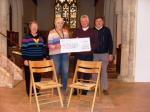 Charities we have or are supporting - Purchase of new chairs for St Mary's