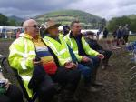 Abergavenny Steam Rally - Steam Rally workers take a well earned rest