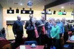 Sports - Some of our members and guests at our annual 10-pin bowling competition.