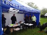 20th Annual Mayor of Truro's Charity Golf Day, 12 May 2017 - The halfway house was a very popular haven in the rain
