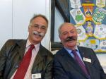 4 December 2013 - Movember moustaches raise £1,000 for Whizz-Kidz - Peter Clark and Peter McLoughlin fail to fool the judges!