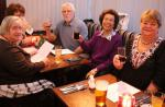 Club Social Events - more Colchester Centurions and guests having drinks before dinner