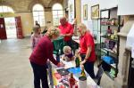 Fund raising with CAMRA - Tombola and teddy