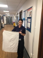Laundry bags for Renal Unit St. George's Hospital Tooting - happy with the bags
