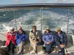 Presidents Weekend at RNLI Poole 3 - 5 October - Trippers in the stern