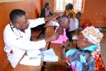 Rotary Clubs adopted a Ugandan Village - Medical assistance for children