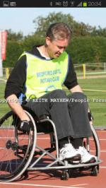 Wheelchair Challenge - WCC Paul Heerey 1