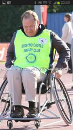 Wheelchair Challenge - WCC Paul Hoare 1