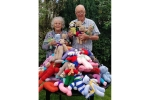 Teddy Bears for Buddy Bags Charity - Chris and Angela Smith