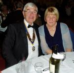 PRESIDENT'S NIGHT DINNER DANCE - Washington Forge President David Neville and Heather