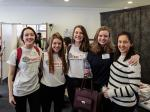 PeaceJam 2016 UK Conference - Five from Jersey College for Girls, their first experience of an event like this