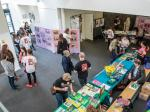 PeaceJam 2016 UK Conference - Full of books and material from PeaceJam and Rigoberta