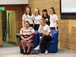 PeaceJam 2016 UK Conference - Phew we can now relax, well done girls!