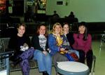 International Exchange Visits - YE Student (Barbour) Centre returning to Australia 1994