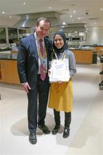 Rotary District 1040 Young Chef competition final 2018  - Amena Shaikh