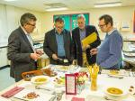 Rotary Young Chef 2015-16 - Jersey Final January 2016 - The judges Eamon Fenlon, Paul Wells, Bob Marshall and Andrew Baird.