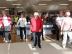 Zumba in the Co-op - Some shoppers join in