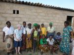 Our Work in Zambia - Deanna Owen, one of the Trustees of Monze school with some of the Zambia Women and girls Foundation (ZaWGF) a registered NGO, who will monitor the egg laying project.""