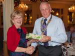 Annual Christmas Celebrations - Winner of ladies 'Heads & Tails' competition