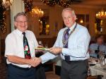 Annual Christmas Celebrations - Winner of men's 'Heads & Tails' cometition