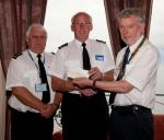 Archive Pictures 2012-2013 - Representatives of national Coastwatch receiving a cheque for £400