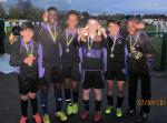 Rotary Schools Football Competition: Up to and including Year 8 - Runners up from North Birmingham Academy