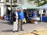 Boules in the Square 2019 - And it's goodbye from him