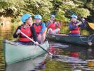 Canoeing with Rotary - July 2018 -