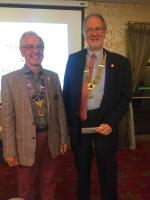Exchange Visit to Carnforth Rotary - Two presidents for the price of one!