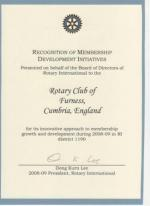 Banners - Certificate